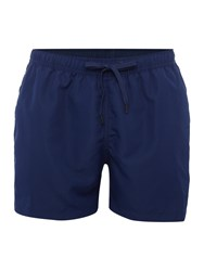Bjorn Borg Solid Mid Shorts With Logo Blue