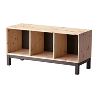 Nornas Bench With Storage Compartments Ikea