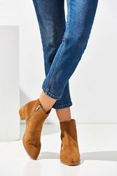 Sol Sana Miles Suede Ankle Boot Tan