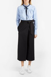Tibi Wrap Tie Trousers Black