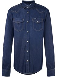 Diesel 'New Sonora' Denim Shirt Blue