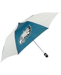 Northwest Company Mcarthur Philadelphia Eagles Automatic Folding Umbrella Green