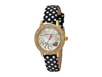 Betsey Johnson Bj00251 10 Polka Dot Black White Gold Watches Multi