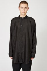 Jan Jan Van Essche Loose Fit Long Shirt Black