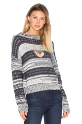 Lamade Meredith Turtleneck Sweater Gray