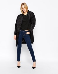 Selected Mid Rise Annie Skinny Jeans Blue