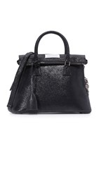 Maison Martin Margiela Leather Bag Black