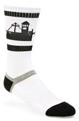 Strideline 'Spokane' Socks White