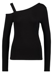 Noisy May Nmfame Long Sleeved Top Black