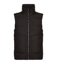 Versace Collection Puffer Gilet Male Black