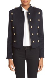 Burberry Women's 'Dunebeck' Wool And Cashmere Military Jacket