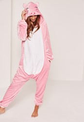 Missguided Pink Piggy Onesie