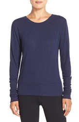 Alo Yoga Women's Alo 'Flux' Cross Back Long Sleeve Top