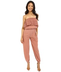 Billabong Sunny Dazer Jumpsuit Rosewater Women's Jumpsuit And Rompers One Piece Pink