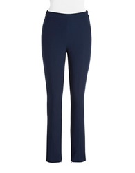 Dex Pleated Front Trousers Marine Blue
