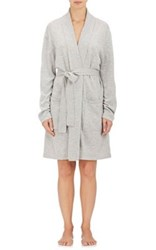 Arlotta By Chris Arlotta Women's Cashmere Fine Gauge Knit Robe Light Grey