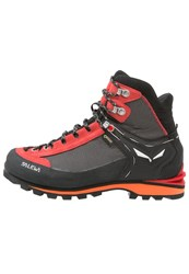 Salewa Crow Gtx Walking Boots Black Papavero
