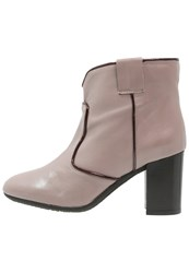 Fabio Rusconi Susy Ankle Boots Bordeaux Taupe