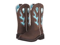 Ariat Fatbaby Heritage Tall Toasted Brown Cowboy Boots Taupe