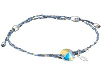 Alex And Ani Precious Thread Crystal Bracelet Light Blue Silver Bracelet