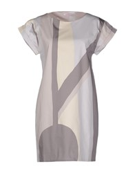 Rossopuro Dresses Short Dresses Women Dove Grey