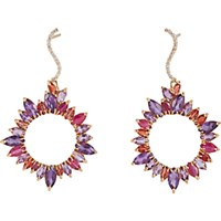 Sharon Khazzam Women's Mixed Gemstone Drop Earrings No Color