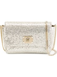Jimmy Choo 'Ruby' Clutch Metallic