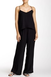 Eight Sixty Ruffle Jumpsuit Black