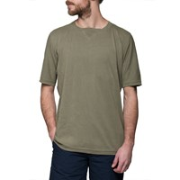 Mhi Maharishi Olive Raw Cross T Shirt Green