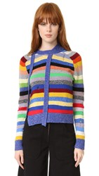 Marc Jacobs Cashmere Stripe Sweater Bright Multi