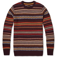 Barbour Caistown Fair Isle Crew Neck