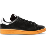 Raf Simons Adidas Originals Stan Smith Leather Sneakers Black