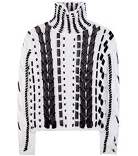 Altuzarra Caravan Wool And Mohair Blend Knitted Sweater White