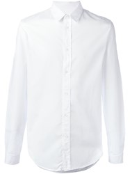 Maison Martin Margiela Classic Long Sleeve Shirt White
