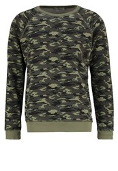 Ltb Wosoba Sweatshirt Green Raw Oliv