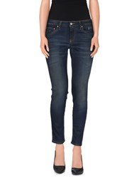 Blauer Denim Denim Capris Women Blue