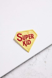 Urban Outfitters Vintage Super Kid Patch Yellow