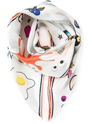 Anya Hindmarch 'All Over Stickers' Scarf