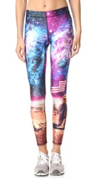 Zara Terez Moon Man Performance Leggings Multi