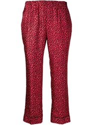 Piamita 'Annette' Cropped Trousers Red