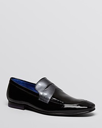 Ted Baker Graem Patent Leather Loafers Black