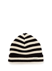 Scotch And Soda 'Bob Blauw' Stripe Cotton Beanie Multi Colour