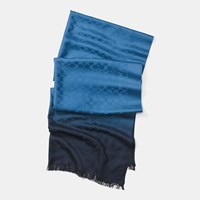 Coach Signature C Ombre Stole Midnight