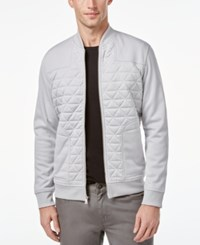 Inc International Concepts Men's Roman Lightweight Quilted Jacket Only At Macy's Whispy Grey