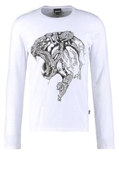 Just Cavalli Long Sleeved Top White