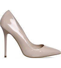 Office Onto Patent Leather Courts Nude Patent Leather