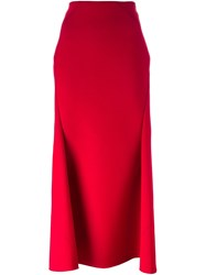 Comme Des Garcons Junya Watanabe Mid Rise Structured Skirt