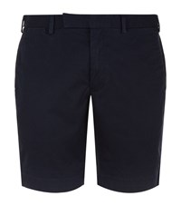 Polo Ralph Lauren Slim Fit Military Shorts Male Navy