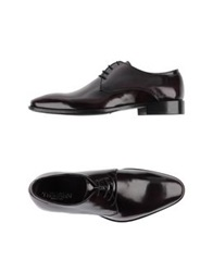 Thompson Lace Up Shoes Maroon