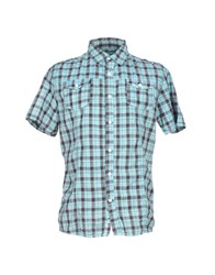 Blend Of America Blend Shirts Shirts Men Turquoise